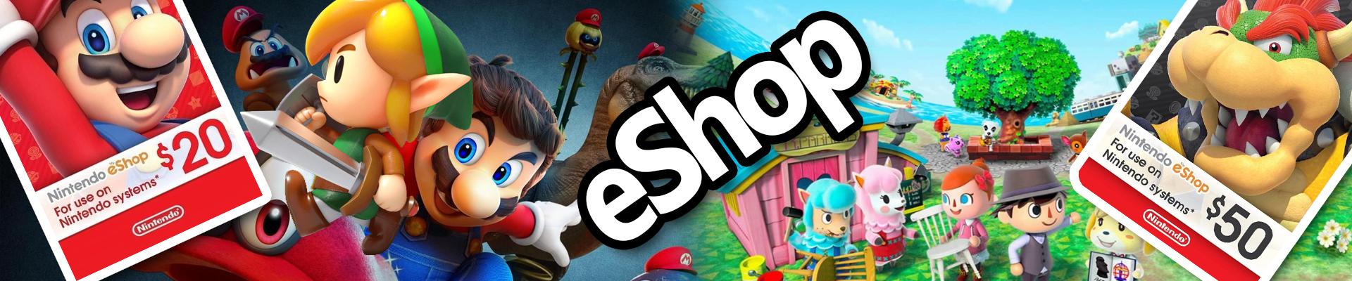 Nintendo eshop codes Us