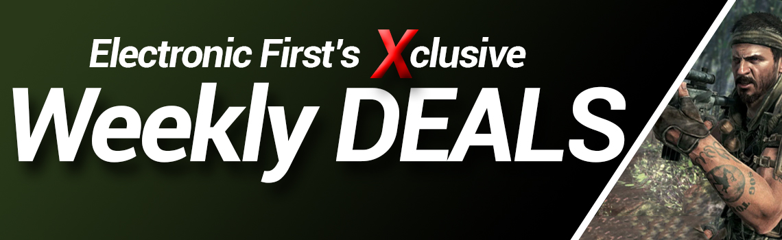 EF WEEKLY DEALS - SAVE BIG!