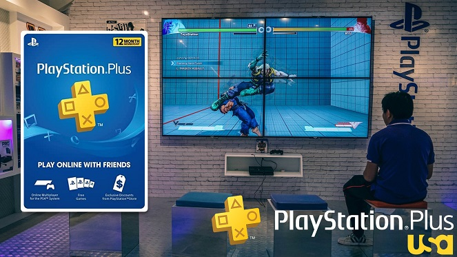12 Month PS Plus Membership US